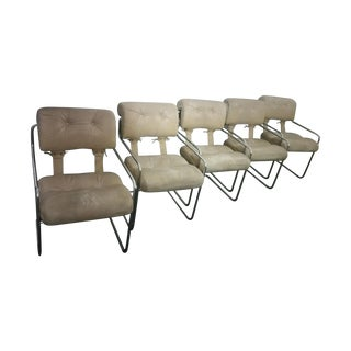 Rare Tucroma Chairs by Guido Faleschini - Set of 5