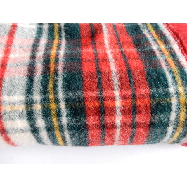 Pearce Red Plaid Blanket - Image 3 of 3