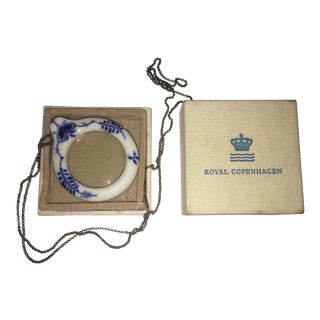 Royal Copenhagen Blue & White Magnifying Glass