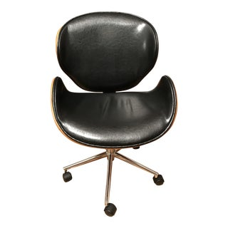 Design Studio Bruce Adjustable Leather Office Chair