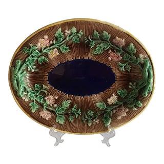 Antique Majolica Platter