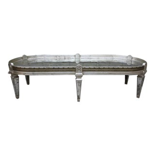 Mirrored & Silvered Coffee Table