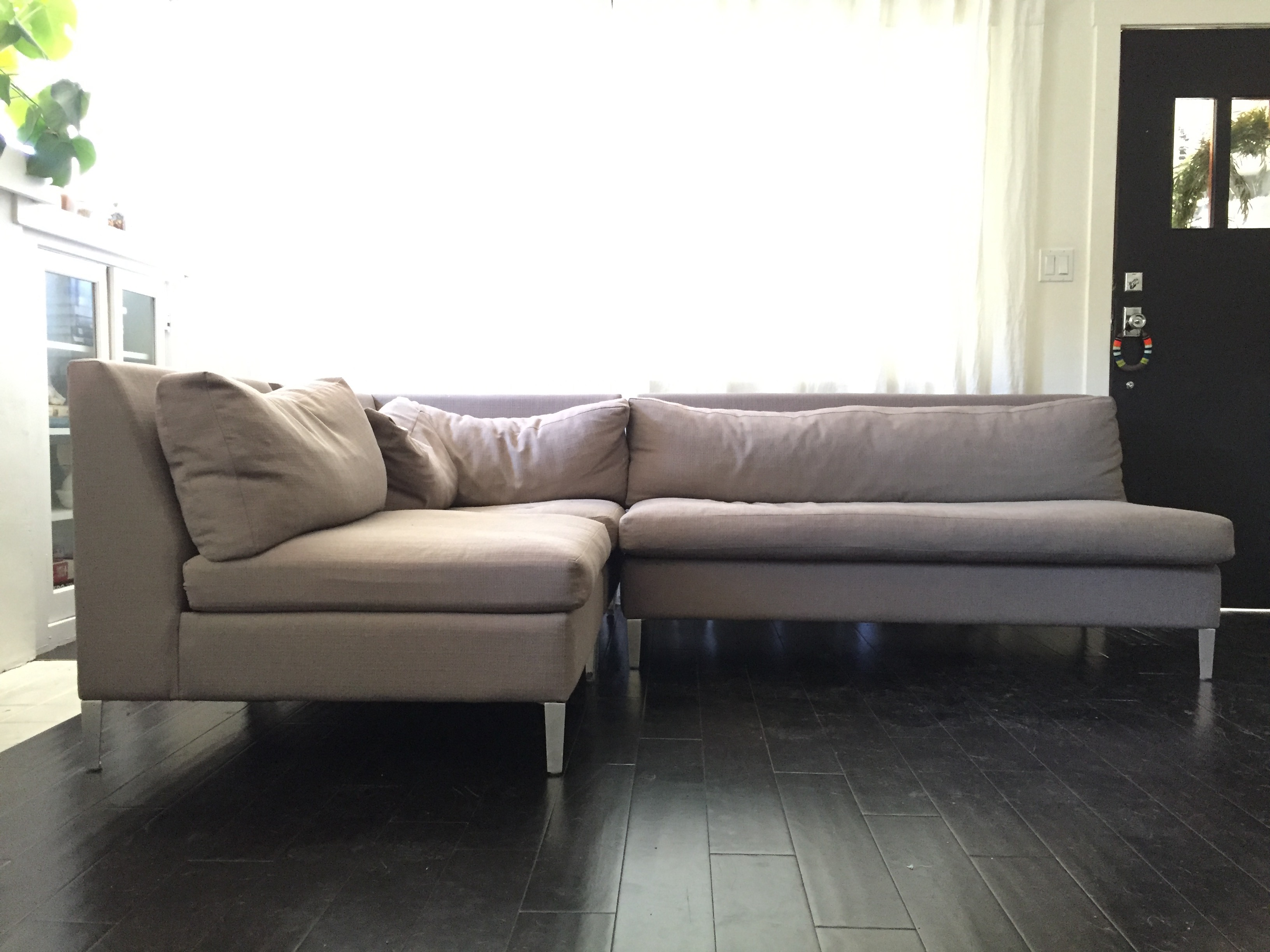 3-Piece Cielo Sectional from CB2 - Image 3 of 9  sc 1 st  Chairish : cb2 cielo sectional - Sectionals, Sofas & Couches