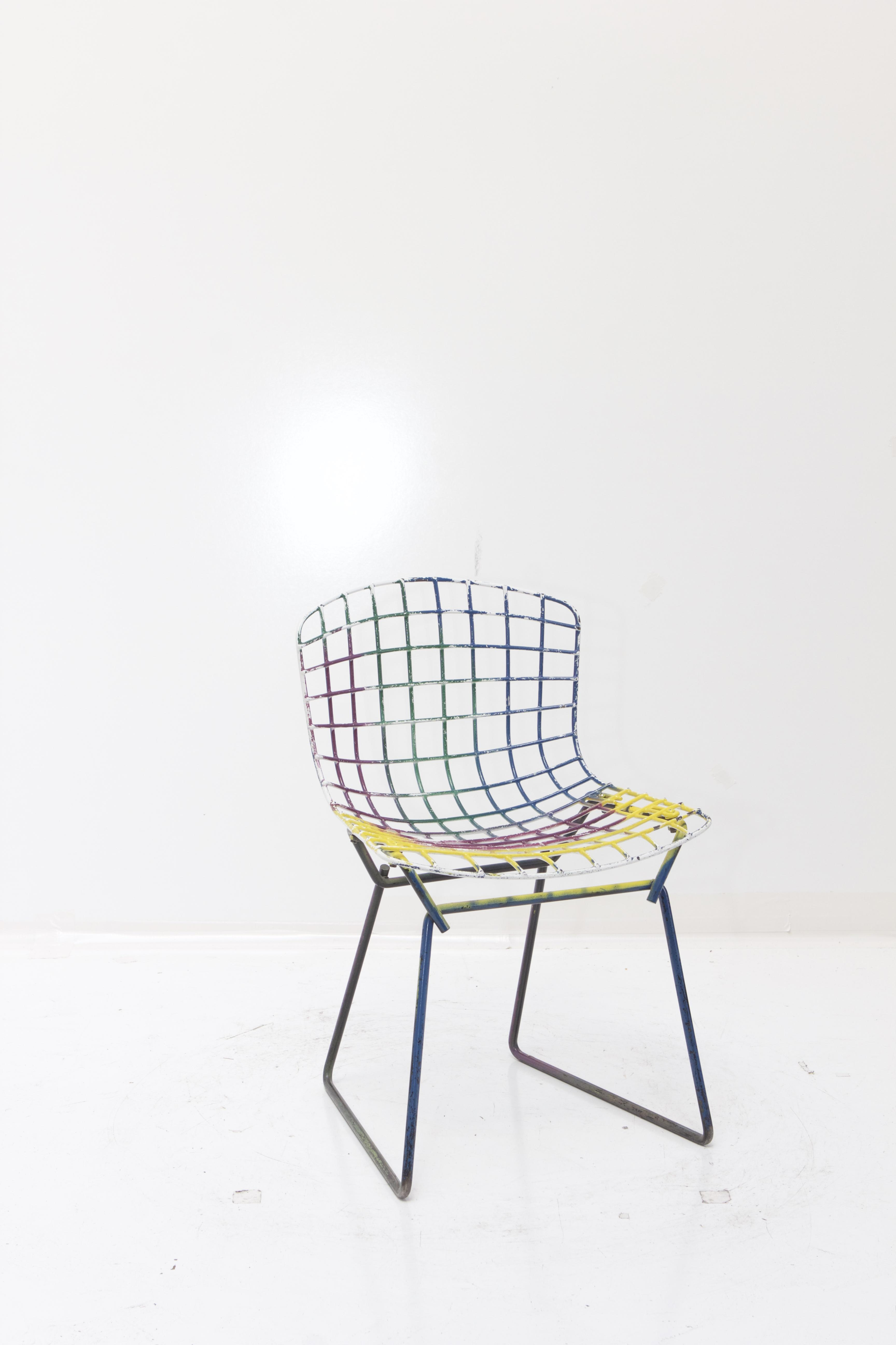 Knoll Bertoia Child Size Chairs Multi   Set Of 4   Image 5 Of 11