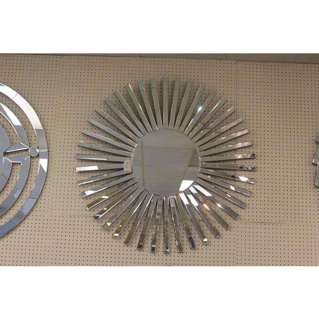 Image of Mid-Century Starburst Mirror