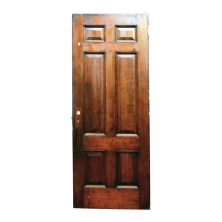 Six Panel Birch Interior Door