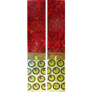 Abstract Art Panels - A Pair