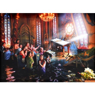 Large David Lachapelle Cathedral C- Print