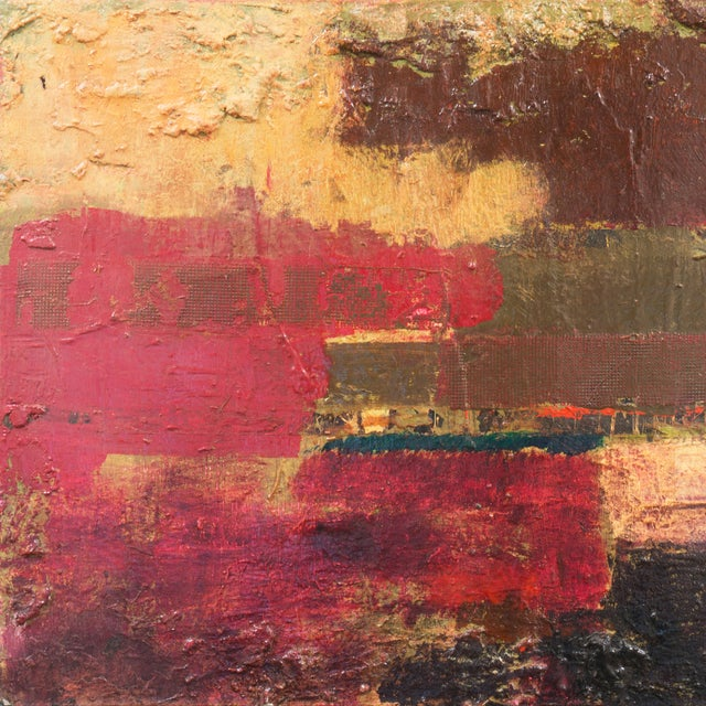 Textural Abstract Oil Painting - Image 2 of 7