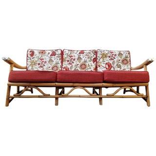 Rattan Sofa Style of John Wisner