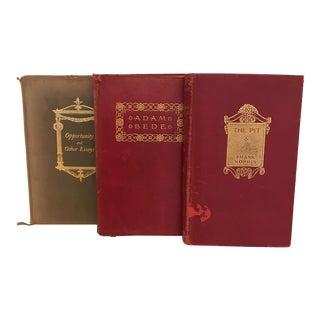 A Set of Three Antique Books