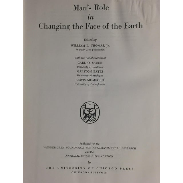 'Man's Changing Role in the Face of the Earth' Book - Image 4 of 8