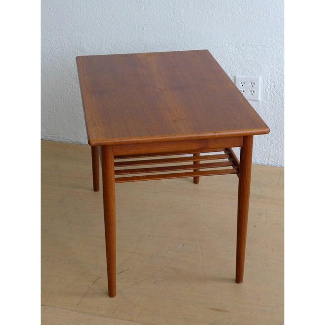 Image of Eames Era Teak Side Table