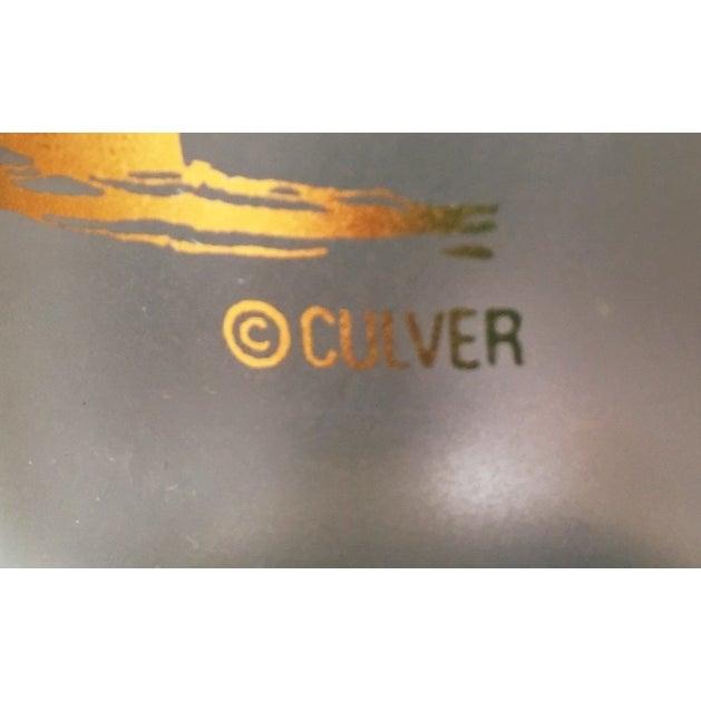 Culver 22k Gold Sailboat Highballs - Set of 4 - Image 3 of 6