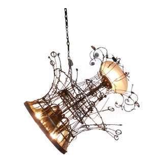 Whimsical Steampunk Chandelier