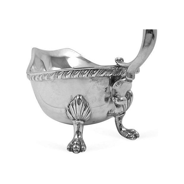 Silver Sauce Boat - Image 6 of 8