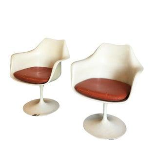 Eero Saarinen Tulip Armchairs - A Pair