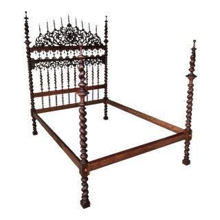18th Century Baroque Full Bed, Original Lisbon Bed