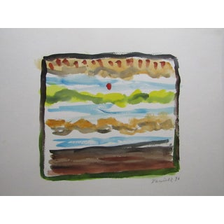 Original Daniell Colorful Abstract Landscape