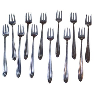 1847 Rogers Bros Fruit Forks - Set of 12