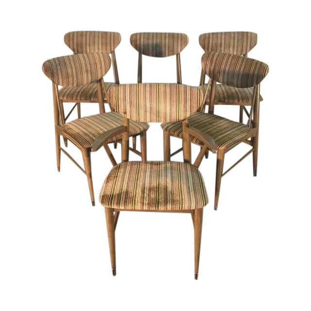 Kroehler Mid-Century Dining Chairs - Set of 6 - Image 1 of 10