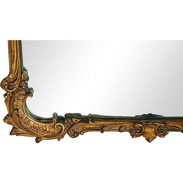 Antique French Gilt & Gesso Mirror - Image 4 of 7