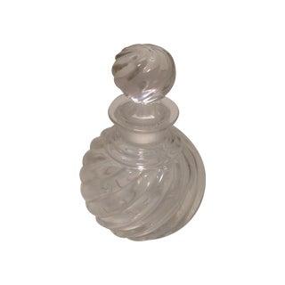Baccarat Jasmine Swirl Crystal Perfume Bottle