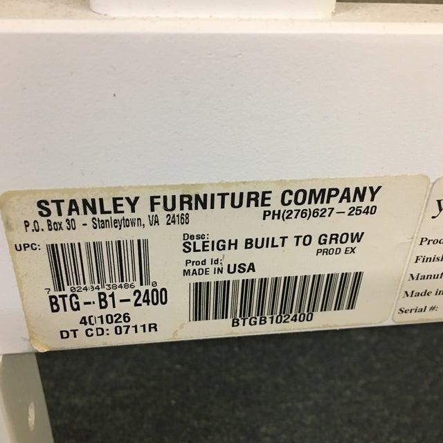 Image of Stanley White Full Bedframe