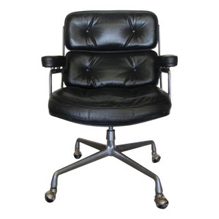 Vintage Herman Miller Black Executive Chair