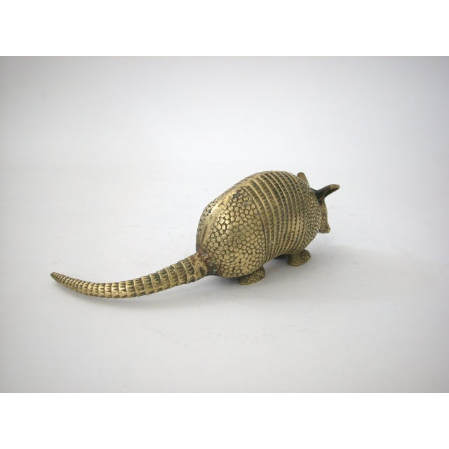 Image of Brass Armadillo Figurine