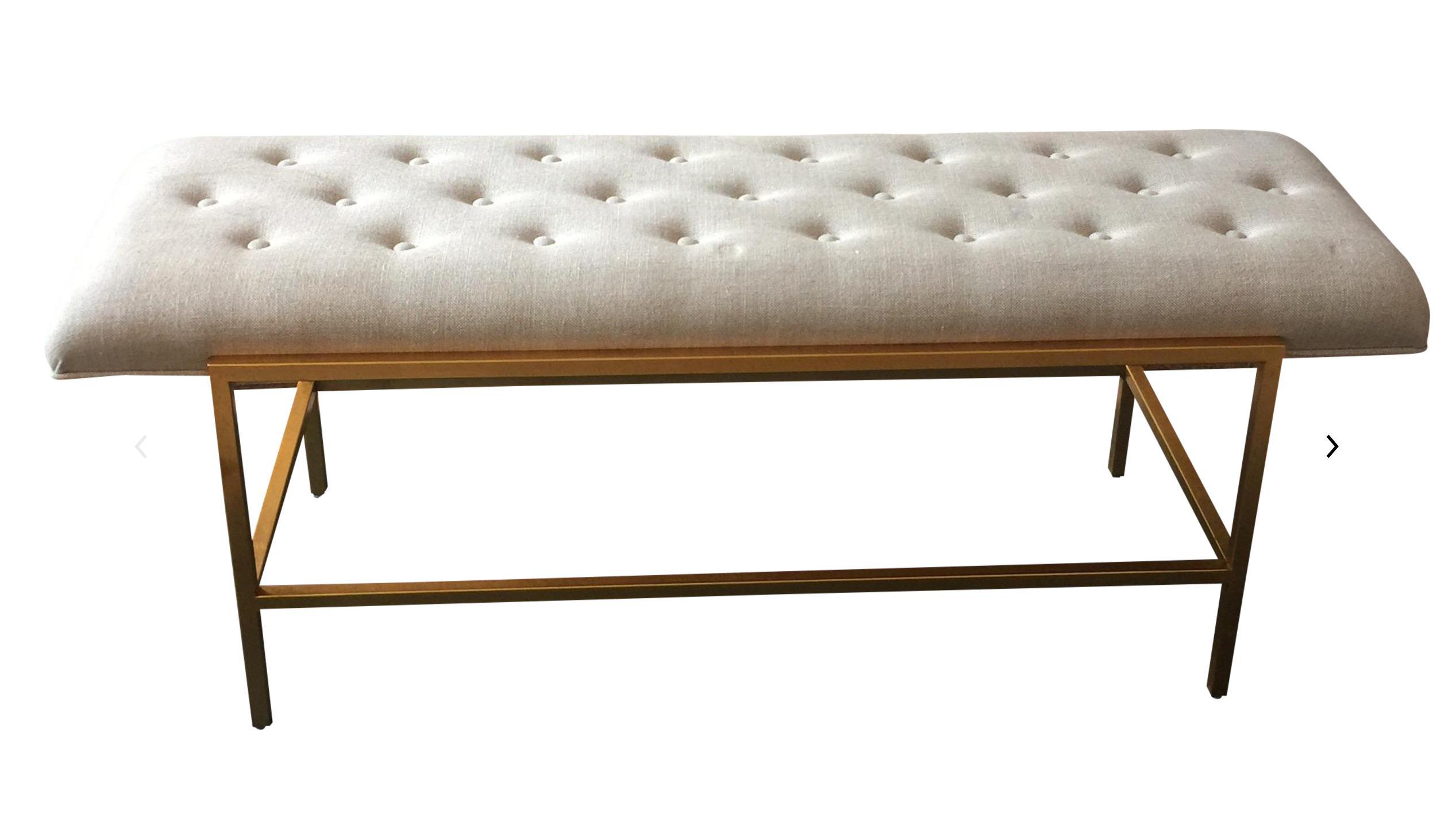 Century Furniture Modern Leg Bench