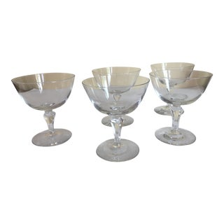 Coupe or Dessert Glasses - Set of 4