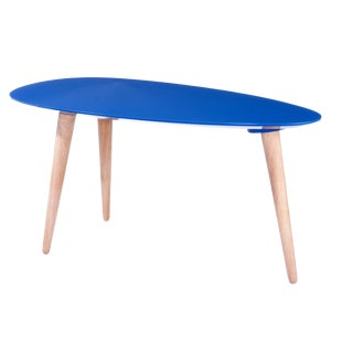 Small Egg Table - Blue