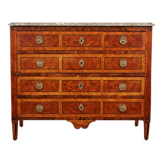 18th Century Italian Neoclassical Marble Chest of Drawers