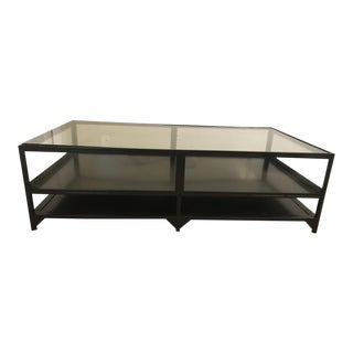 Four Hands Shadowbox Coffee Table