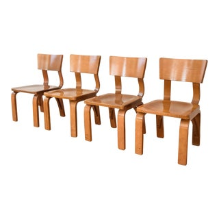 Thonet Mid-Century Plywood Chairs - Set of 4