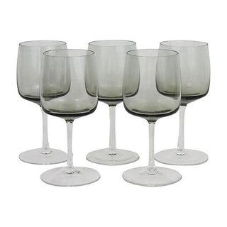 Peill & Putzler Crystal Wine Glasses - Set of 5