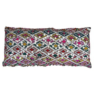Sequin & Pink Diamond Berber Pillow