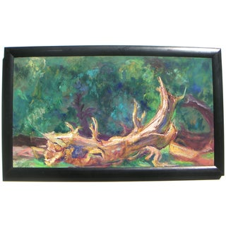 Painting of Mill Valley Woods, Marin, CA