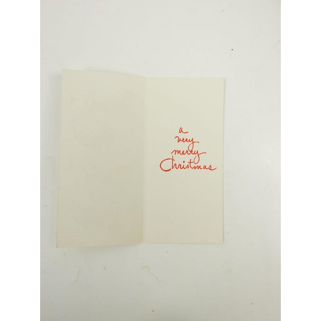Mid-Century Modern Christmas Cards - S/8 - Image 5 of 7