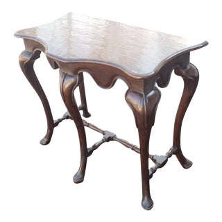 Traditional English Console Table