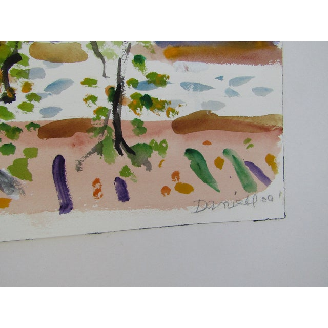 Birch Trees by the Ocean by George Daniell - Image 3 of 4