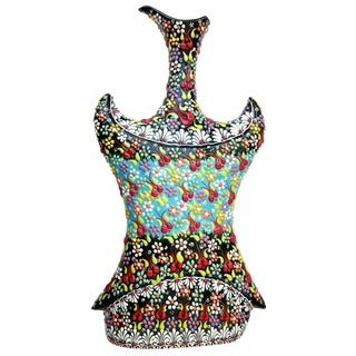 Turkish Multicolour Handmade Vest Vase