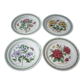 Portmeirion Floral Dinner Plates - Set of 4