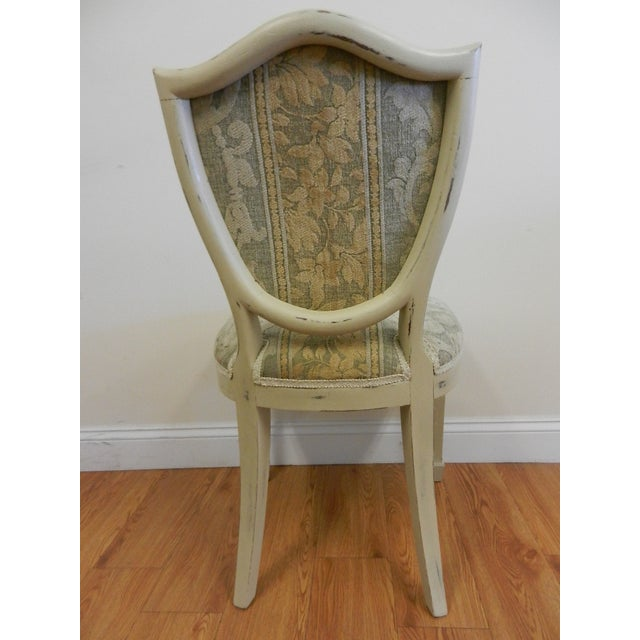 Shield Back Dining Chairs - Set of 6 - Image 6 of 8