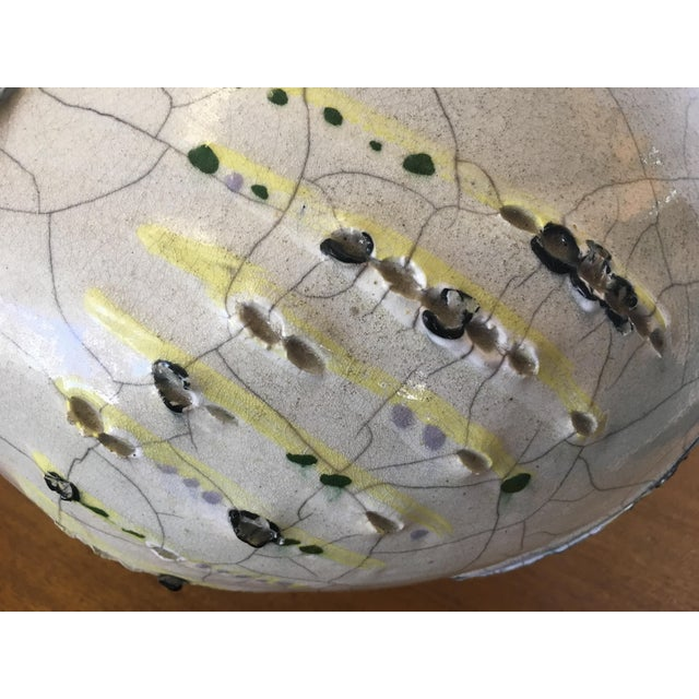 Abstract Studio Pottery Vase - Image 7 of 11