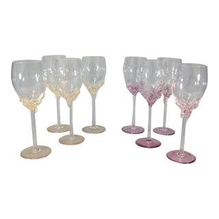 Romanian Wine Glasses - Set of 8