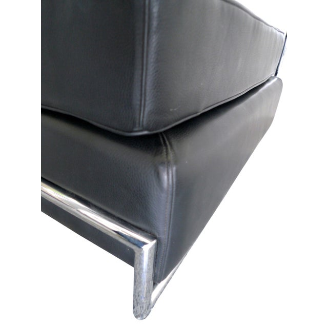 Eileen Gray Chrome and Leather Daybed - Image 7 of 8
