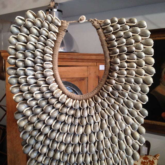 Image of Large Handmade Indonesian Shell Necklace