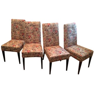 Poppy Print Dining Chairs - Set of 4